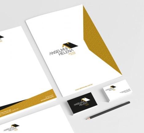 Anselmi & Helena Imóveis - Identidade Visual