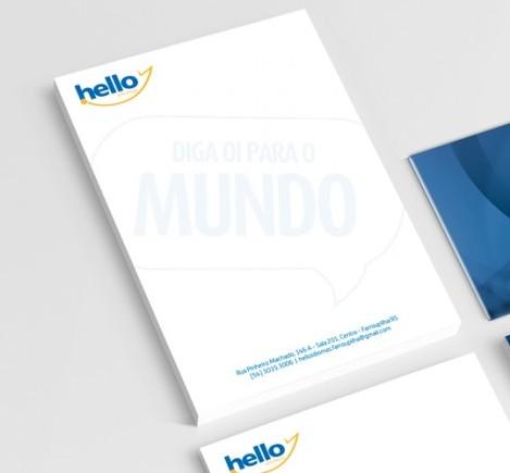 Hello Idiomas - Identidade Visual