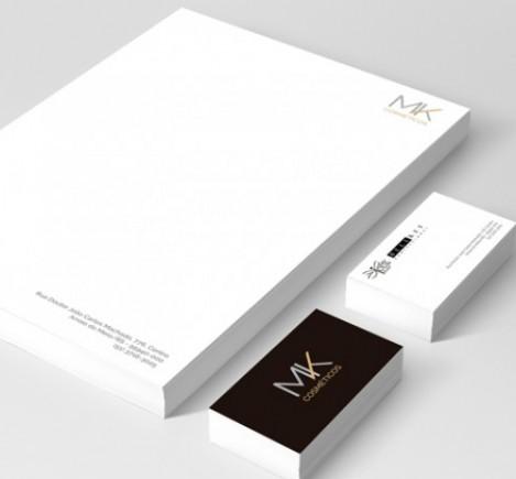 MK Cosméticos - Identidade Visual