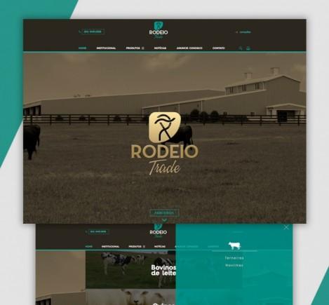 Rodeio Trade -  Site