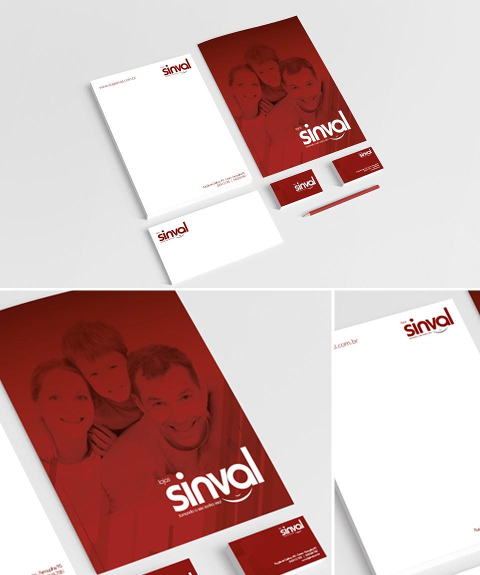 Lojas Sinval - Identidade Visual