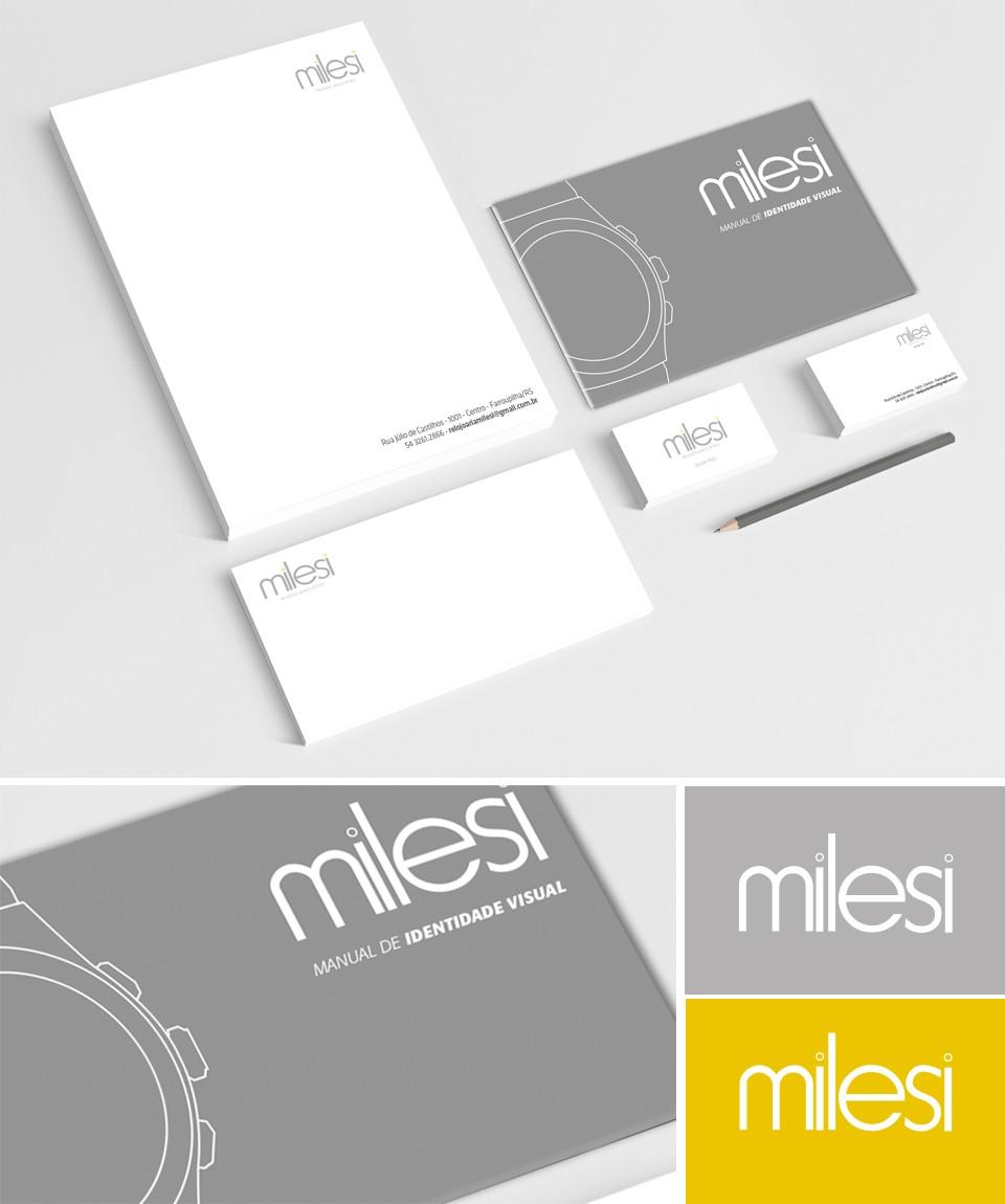 Relojoaria Milesi - Identidade Visual