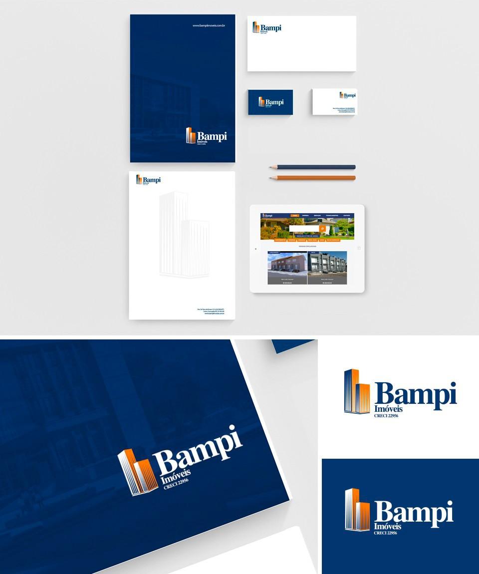 Bampi Imóveis - Identidade Visual e Site